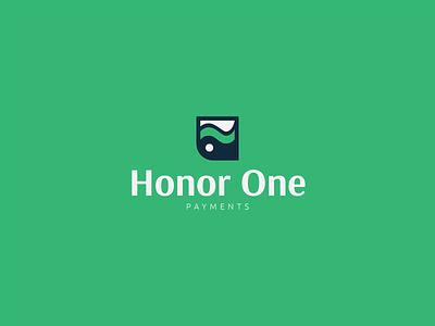 Honor One vector illustration sleek modern logo design design logo graphic design branding
