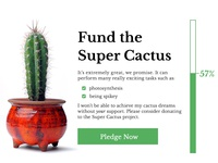 DailyUI 032 - Crowdfunding