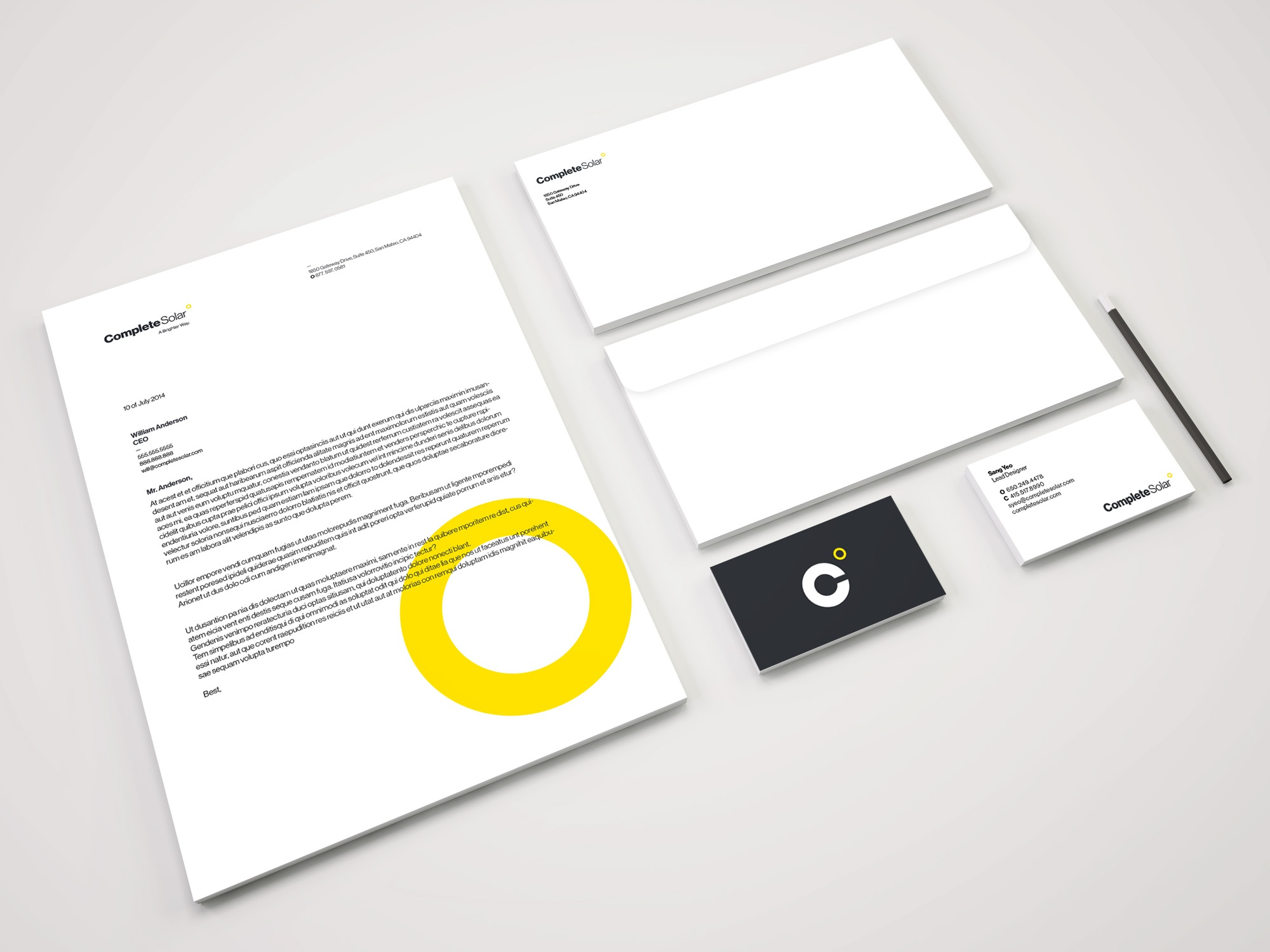 dribbble - branding-stationery-psd-mockupsang yeo, Powerpoint templates