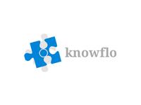 Knowflo logo concept