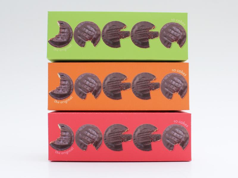 Jaffa Cakes - packaging concept rebranding design visual identity packaging design packaging branding