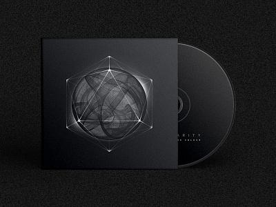 Album Art geometry dark package compact disc music album cd science smoke space