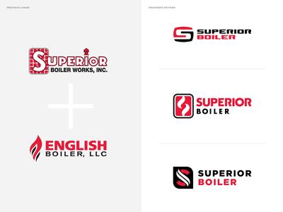 Superior Boiler Works + English Boiler Rebrand