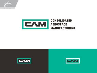 CAM Logo Concept 2 logo branding typography type wordmark aviation aerospace