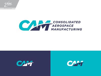 CAM Logo Concept 3 logo branding typography type wordmark aviation aerospace