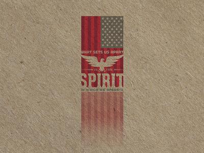 Fuckin' USA Spirit Eagle