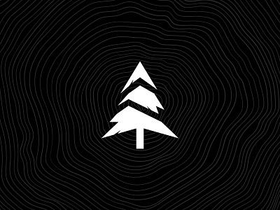 Personal Logo Mark 🌲 jacobjolibois.com personal mark branding tree logo
