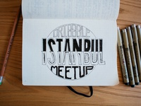 Dribbble Meetup - Istanbul