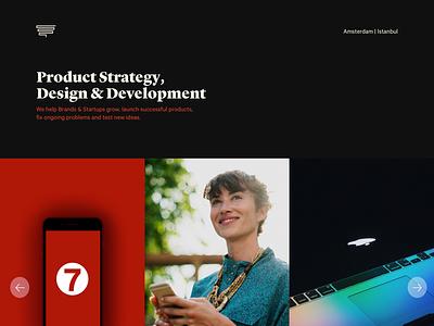 Thread Co. Website [2018] android ios design development mobile web copywriting product strategy portfolio landing