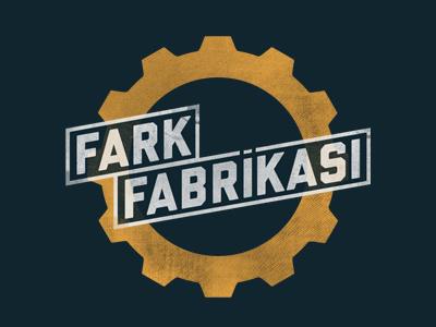 Fark Fabrikası logo gear badge ios