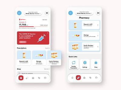 Shoppers Drug Mart Application ui ux mobile illustration design app
