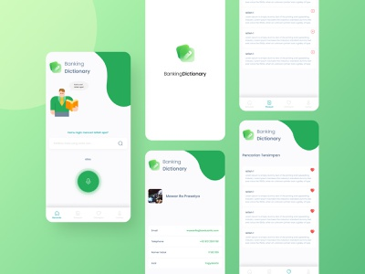 Banking Dictionary App uiux regional dictionary mobile app