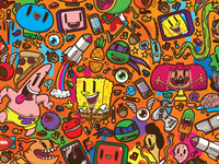 Nickelodeon Branded Pattern 1