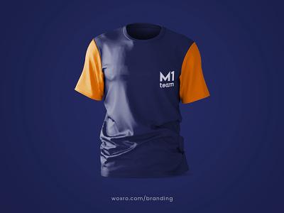 BRANDING FOR M1 SPORTS CLUB motion graphics app typography ux ui vector logo illustration graphic design branding design