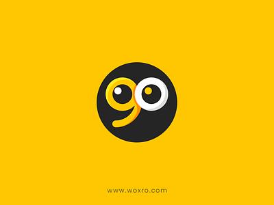 Eyego Security Systems Logo typography design branding graphic design illustration logo