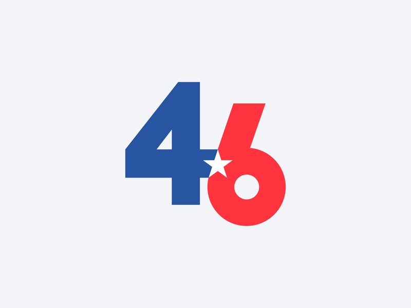 46 usa 46 biden president challenge 52weeks logo