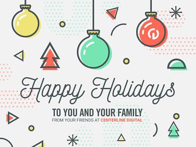 Happy Holidays card holiday merry christmas seasons greetings christmas happy holidays