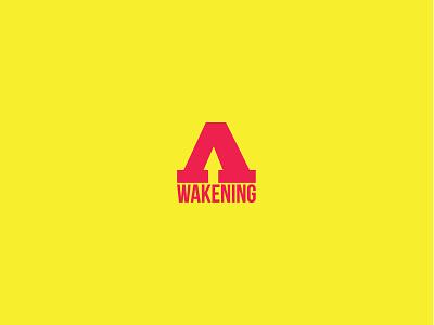 Awakening event branding logo awakening awaken awake