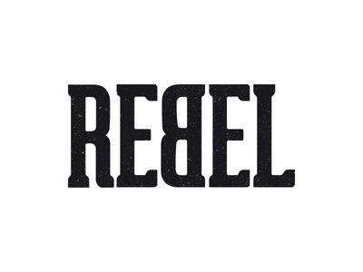 REBEL branding bike logo rebel
