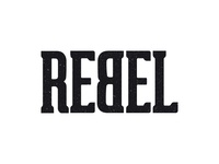 REBEL branding bike logo rebel