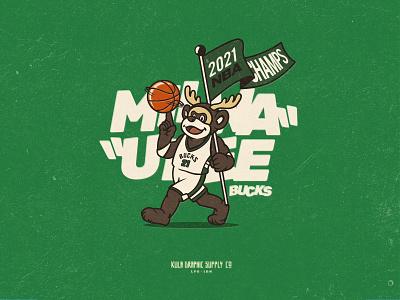 New NBA CHAMPS 2021, Congratulations to Milwaukee Bucks! phoenix suns playoff champion champs 2021 final milwaukee basket nba bucks logo typography dribbble illustration design vector branding