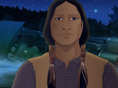 Porcupine, Cheyenne Warrior