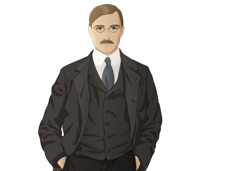 New Character vector character illustration male man suit