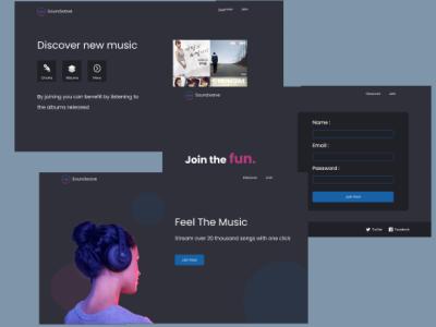 Web design typography web ui  ux design figma designer app