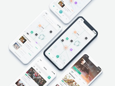 Offline Activity App icon design iphone ux ui app