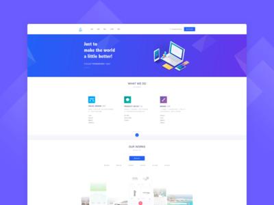 Artlab Landing Page portfolio experience user profile ux ui webdesign design web