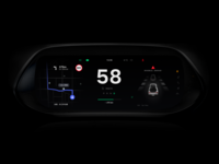 Electric Car Dashboard