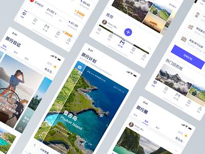 Travel App Part2 iphone x ios trip ui app travel