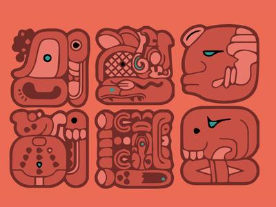 WIP Mayan Hieroglyph
