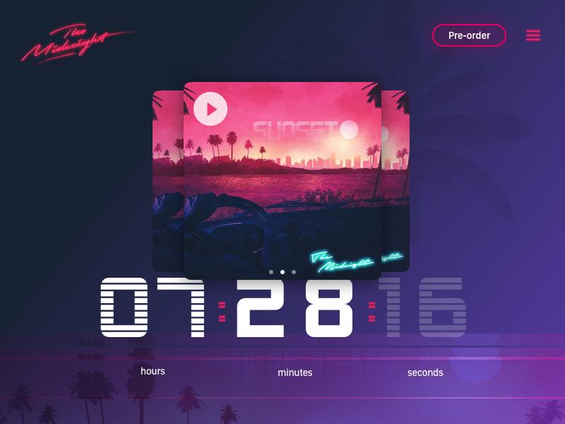 Countdown Timer by Rohan Mocke on Dribbble