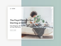 Daily UI challenge #003 — Landing Page