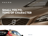Volvo cars landing page 2 min