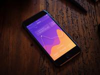 App dashboard orange