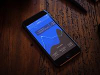 App dashboard blue