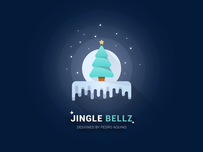 Jingle Bellz Jingle Bellz natal papai noel santa claus christmas aquino pedro illustrator design flat bellz jingle