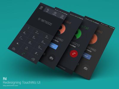 TouchWiz UI Redesign