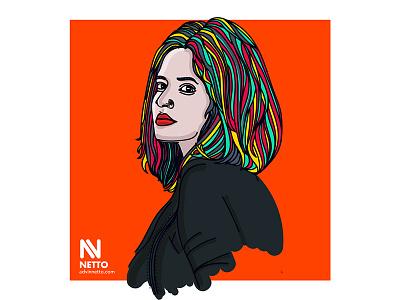 Friend's Portrait illustrator illustration avatar art