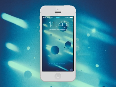 Reflection iOS 7 Wallpaper ios7 wallpaper mobile iphone abstract cold winter blue