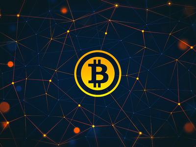Bitcoin Wallpaper V2 bitcoin wallpaper freebie nodes web money currency digital internet global network public domain