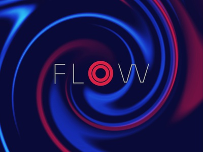 Flow flow swirl colors ink water abstract
