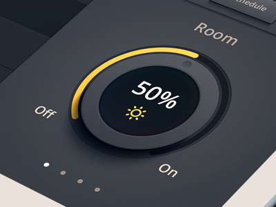 Lighting Dimmer Dial lighting dim on off knob home automation room
