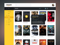 Amazon Streaming Redesign