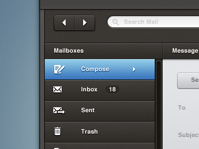 Email ui