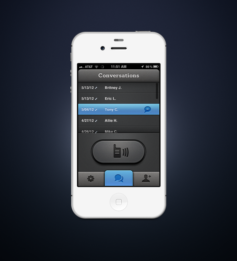 how to switch to new iphone cipriano projects walkie talkie app dribbble 19115