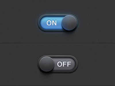 On/Off Settings Switch on off settings switch app ui ux