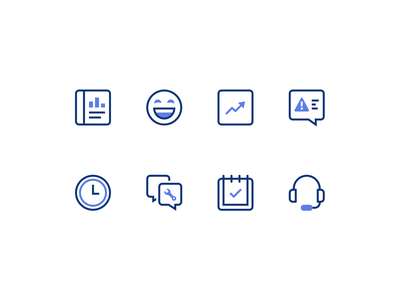 Connected Car Website Icons design web illustration vector ui icon icons